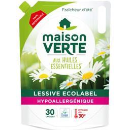 Lessive liquide hypoallergénique Fraîcheur d'Eté