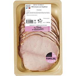 Rôti de porc cuit supérieur VPF