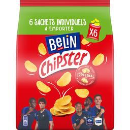 Belin Belin Chipster - Biscuits apéritif L'Original les 6 pochons de 22 g