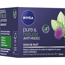 Soin de nuit anti-rides - Pure & Natural