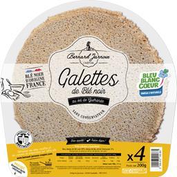 Galettes de blé noir au sel de Guérande