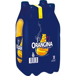 Orangina Soda à l'orange et sa pulpe