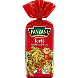 Torti épinards & tomates
