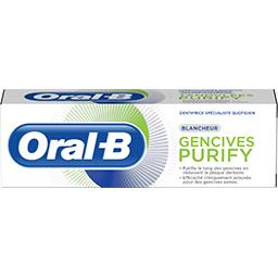 Oral B Oral B Dentifrice gencives purify blancheur