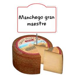 Manchego gran maestre, fromage, 6 mois, AOP 57% de MG