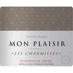 Minervois Les Charmilles Mon Plaisir, vin rouge