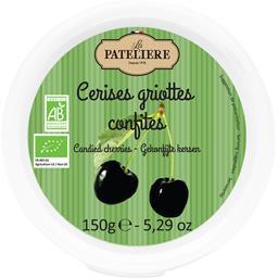 La Patelière Cerises griottes confites BIO le pot de 150 g