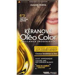 Kéranove Oléo Color Coloration 6*3 châtain très clair raffiné - Oleo Col...