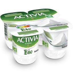 Activia - Yaourt nature au bifidus BIO