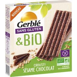 Sans Gluten & BIO - Crousti sésame chocolat BIO