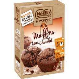 Dessert - Préparation pour Muffins tout chocolat