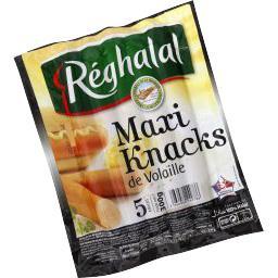 Maxi Knacks de volaille halal