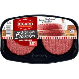 Mon Haché Boucher 100% pur bœuf 15% MG