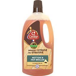 Nettoyant parquet vitrifié ou stratifié à l'huile de...