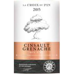 Vin de pays d'Oc - Cinsault Grenache - La Croix du Pin, vin rosé