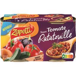 Sauce tomate ratatouille