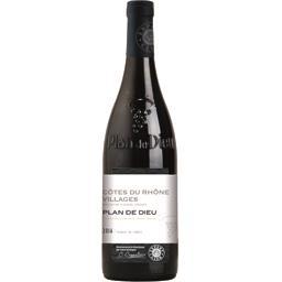 Côtes du Rhône Villages Plan de Dieu, vin rouge