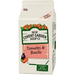 Soupe tomates & basilic