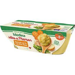 Les Idées de Maman - Haricots verts carottes veau, d...