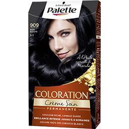 Coloration crème soin noir bleuté 909