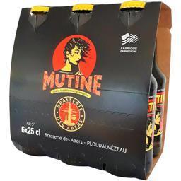 Bière ambrée Mutine