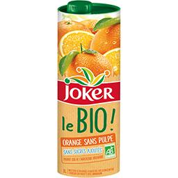 Le BIO - Nectar d'orange sans pulpe BIO