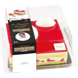 Les Créations La Fournée Campanière Le Fraisier le fraisier de 1,04 kg