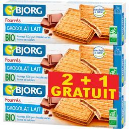 Fourrés chocolat lait bio