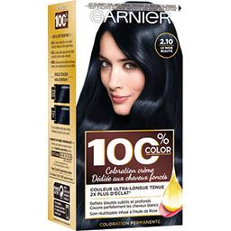 Garnier 100% Ultra Brun - Coloration 2.10 Le Noir Bleuté