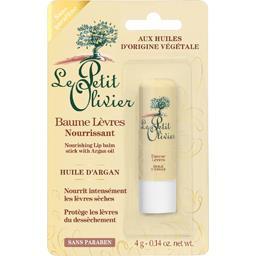 Le petit olivier baume à lèvres nourrissant à l'huile d'argan 4g