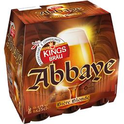Bière blonde Abbaye