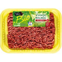 Haché pur bœuf 15% BIO
