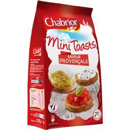 Chabrior Mini Toasts saveur provençale le sachet de 150 g