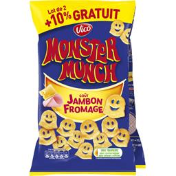 Monster Munch Vico  - Petits monstres goût jambon fromage