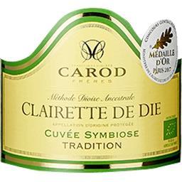 Clairette de Die BIO -Tradition - Cuvée Symbiose Brut