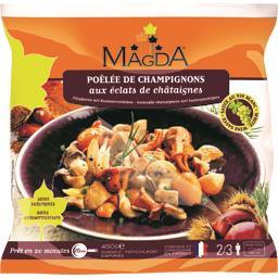 Magda Poêlée de champignons aux éclats de châtaignes le sachet de 450 g