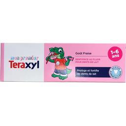 Dentifrice goût fraise 1-6 ans