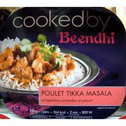 Poulet Tikka Massala yaourt gingembre épices et coriandre