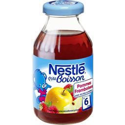 P'tite Boisson - Boisson pommes framboises sans sucr...