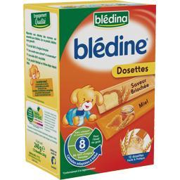 Blédine - Céréales instantanées saveur briochée et miel, dès 8 mois