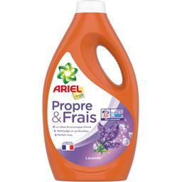 Ariel Simply Lessive liquide Propre & Frais lavande