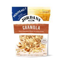 Flocons d'avoine Granola, amandes noix noisettes