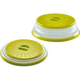 Cloche micro-ondes rétractable D 26 cm