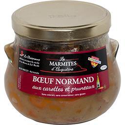 Bœuf normand aux carottes et pruneaux