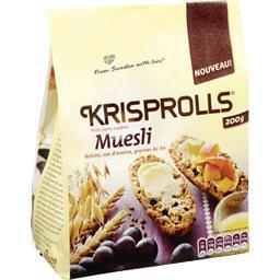 Petits pains suédois au muesli