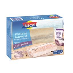 Eglefin sauvage des mers froides