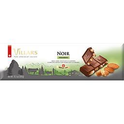 Villars Chocolat noir amandes la tablette de 300 g