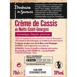Crème de cassis de Nuits-Saint-Georges