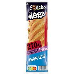 Le Méga - Sandwich thon œuf sauce cocktail