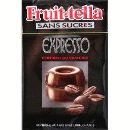 Bonbons Expresso au café avec édulcorants sans sucre...